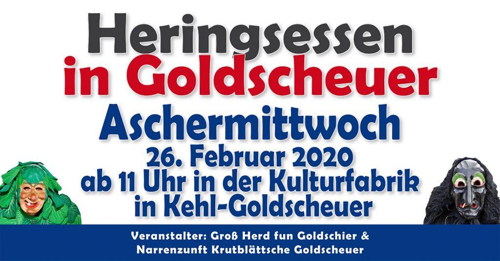 Heringsessen am Aschermittwoch @ Kulturfabrik in Kehl-Goldscheuer | Kehl | Baden-Württemberg | Deutschland